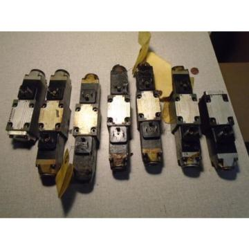REXROTH HYDRONORMA  Hydraulic Valves Lot of 7