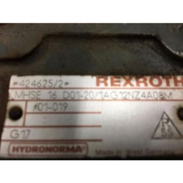 Rexroth Valve; MHSE 16 D01-20/VG12NZ4A08M