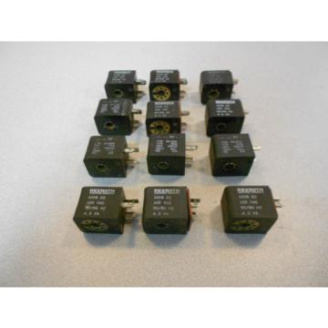 Lot of 12 Rexroth W5140 Solenoid Valve Coils