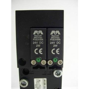 TM-2298, REXROTH 261-209-120-0 PNEUMATIC SOLENOID ISO VALVE