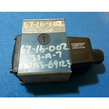 REXROTH  4WE10D32/CW110N9DA  HYDRAULIC  SOLENOID VALVE