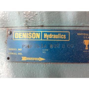 P14P3L1A802BOO Denison Gold Cup Pump PARKER