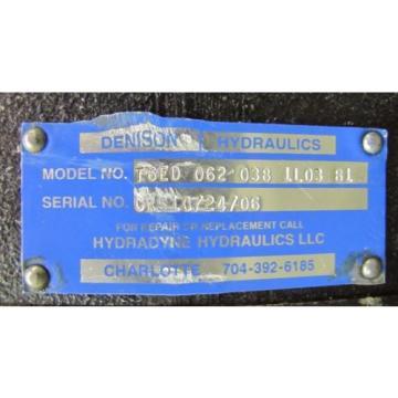 DENISON T6ED 066 045 1R03 B5 T6ED0660451R03B5 HYDRAULIC PUMP
