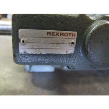 REXROTH Italy Russia 1PV2V3-31/63RG01MC100A1 1PV2V4-20/32RE01MC0-16A1 VANE HYDRAULIC PUMP