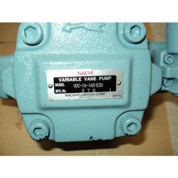 NACHI VDC-1A-1A3-E20 PUMP , HIGH PRESSURE TYPE VARIABLE VOLUME VANE PUMP