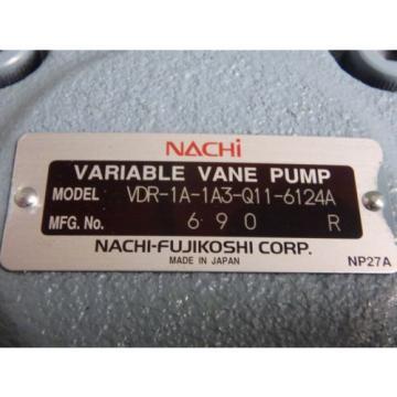 Origin NO BOX - NACHI VARIABLE VANE PUMP_VDR-1A-1A3-Q11-6124A_VDR1A1A3Q116124A