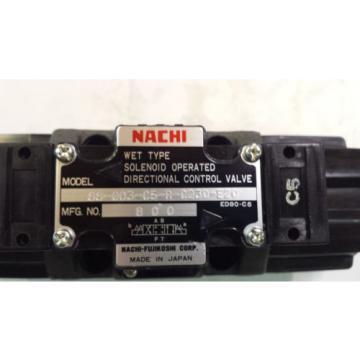 Origin NACHI SS-G03-C5-R-C230-E20 DIRECTIONAL CONTROL VALVE