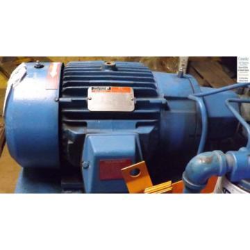 1 USED HYDRAULIC POWER PACK 10 HP MOTOR NACHI PUMP MAKE OFFER