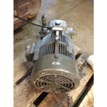 Nachi Variable Vane Pump Motor_VDC-2B-1A3-GU1588_LTIS85-NR_UVD-2A-A3-37-4-1188A