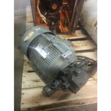 Nachi Variable Vane Pump Motor_VDC-1B-2A3-1048A_LTIS85-NR_UVC-1A-1B-37-4-1048A