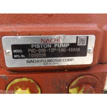 NACHI Hydraulic Pump PVD-00B-12P-5AG-4886A Euro 4151