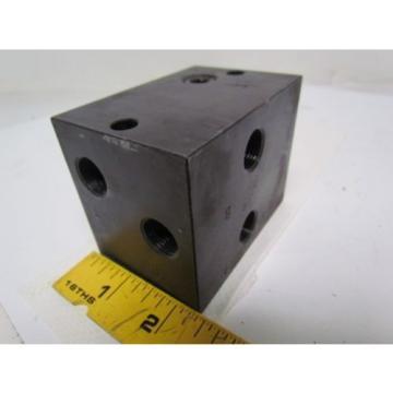 Nachi S-1491-5 Single Position Hydraulic Manifold / Valve Block