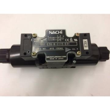 NACHI HYDRAULIC SOLENOID VALVE SS-G01-E3X-r-C115-E31