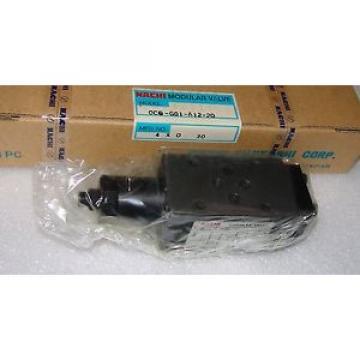 hydraulic valve nachi ocq-g01-b12-20 unused