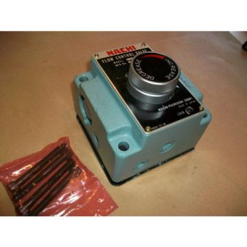 Nachi Hydraulic Flow Control Valve  FT-G03-106-E22   Origin