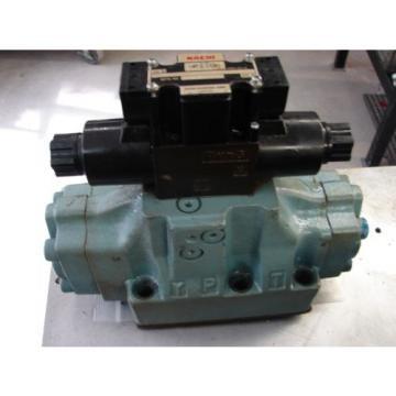 Nachi D08 4 Way hydraulic Solenoid Valve DSS-G06-C5-R-C115-E21 vickers parker