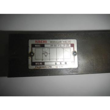Nachi OR-G01-P3-K-20 D03 Hydraulic Relief Valve