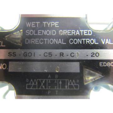 Daesung Nachi SS-G01-C5-R-C1-20 Hydraulic Valve Assembly Hyundai HIT15S