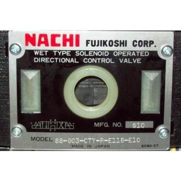 D05 4 Way 4/3 Hydraulic Solenoid Valve i/w Vickers DG4S4-018C-WL-115 V Rectified