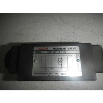 Nachi OCY-G01-B-Y-20 D03 Hydraulic Flow Control Valve