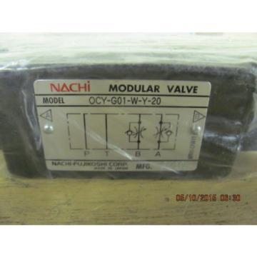 Nachi OCY-G01-W-Y-20 Flow Control Valve