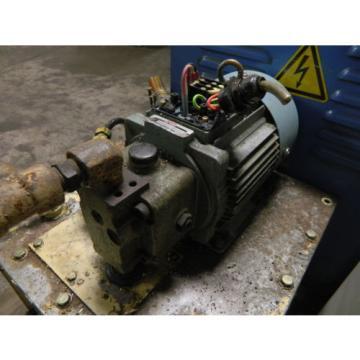 Nachi 2 HP 15 kW Hydraulic Unit, 220V, Nachi Pump UVN-1A-1A3-15-4-Q17-6063A