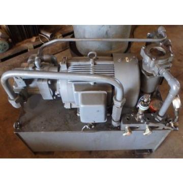NACHI Hydraulic Pump Unit w/ Reservoir Tank_UPV-2A-45N1-55-4-11_S-0160-8_75739