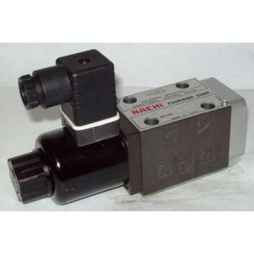 D03 4 Way 4/2 Hydraulic Solenoid  Nachi SA-GO1-A3Z-D1-E20 12 VDC
