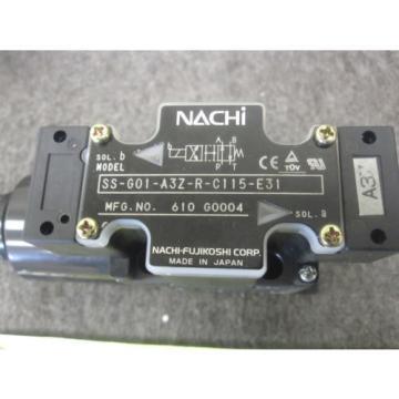 Origin NACHI DIRECTIONAL CONTROL VALVE # SS-G01-A3Z-R-C115-E31