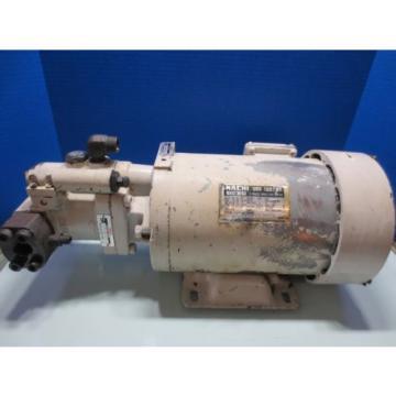 NACHI HYDRAULIC MOTOR PUMP LTIS90-NR PVS-1B-22N1-U-11 UPV-1A-22N1-22AG-4-4412B