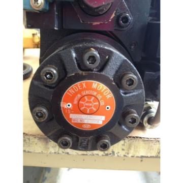 Nippon Gerotor Hydraulic Index Motor with two Nachi solenoids