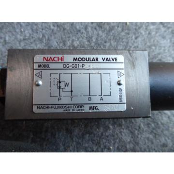 Origin NACHI MODULAR VALVE # OG-G01-P2-E21