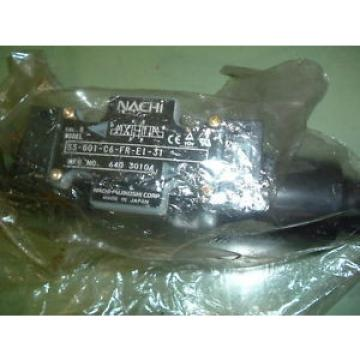 NACHI SS  G01 A3X FR E1 9337J HYDRAULIC VALVE Origin PACKAGED