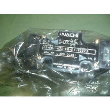 NACHI SS GO1 C6 FR E1 31 HYDRAULIC VALVE Origin PACKAGED