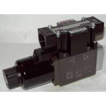 D03 4 Way 4/2 Hydraulic Solenoid Valve i/w Vickers DG4V-3-2A-WL-250V 250 VDC