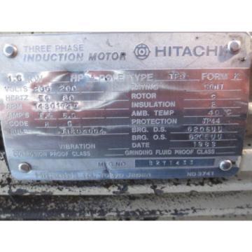 HITACHI HYDRAULIC MOTOR TFO NACHI PUMP UPV-1A-16N0-15H-4-2477A