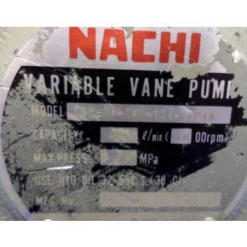 NACHI VARIABLE VANE PUMP, VDR-1A-1A3-Q11-6124A