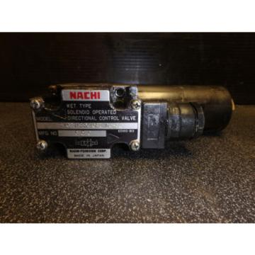 Nachi Wet Type Solenoid Operated Directional Valve S-G01-B3X-GRZ-D2-32_0107-0888