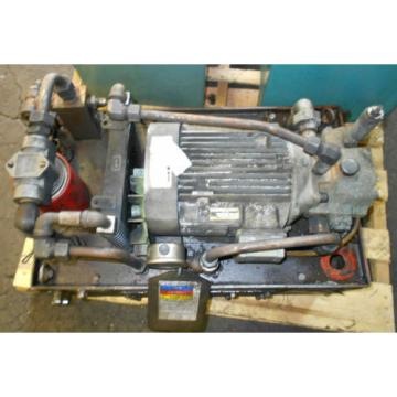 Nachi 3 HP 22kW Complete Hyd Unit w/ Tank,# S-4432 1, Used, WARRANTY