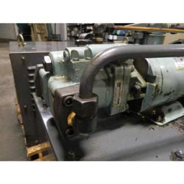 Nachi 2 HP 15kW Complete Hyd Unit w/ Tank, UPV-1A-16N1-15A-4-2535K, Used