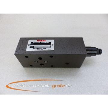 Nachi Fujikoshi OR-G01-P2-5539B Hydraulic Equipment Hydraulikventil