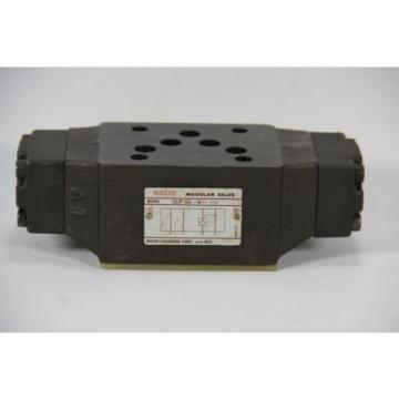 Nachi OCP-G03-B1-J50 Hydraulic Pilot Operated Check Modular Valve, 3600PSI, 3/8