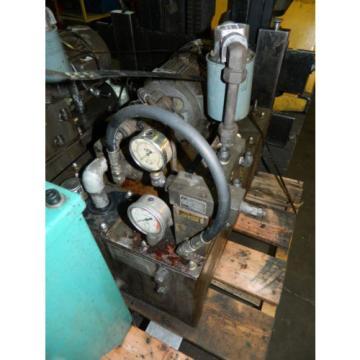Nachi 3 HP 22 kW Hyd Unit w/ Tank, Nachi Uni Pump UPV-1B-22N1-22-4-Z-11