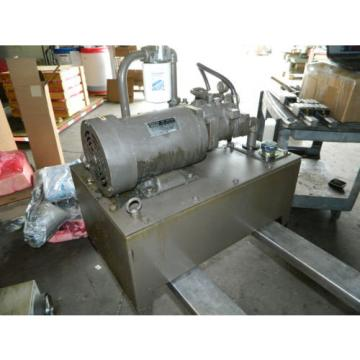 Nachi 3 HP 22kW Complete Hyd Unit, UPV-1A-22N1-22-4-Z-12, 1990, Used
