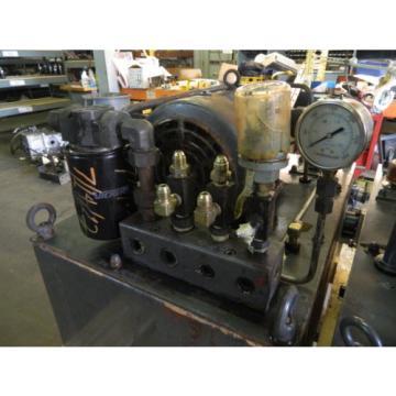 Nachi 3 HP 22kW Complete Hyd Unit w/ Tank, # S-0141-14, 1988, Used, WARRANTY