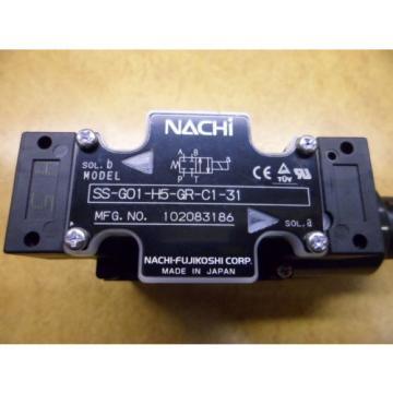 NACHI SS-G01-H5-GR-C1-31 HYDRAULIC SOLENOID VALVE AC110V  MFGNO102083186 Origin