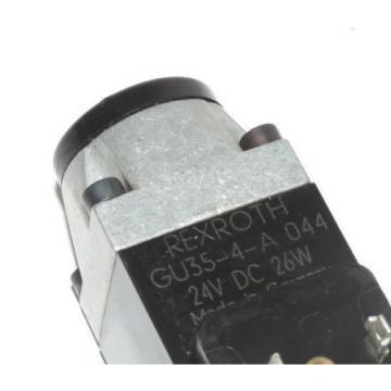 REXROTH DBWC-B2-52/200-6AG24N9K4/12 VALVE WITH GU35-4-A COIL 24VDC, 26W