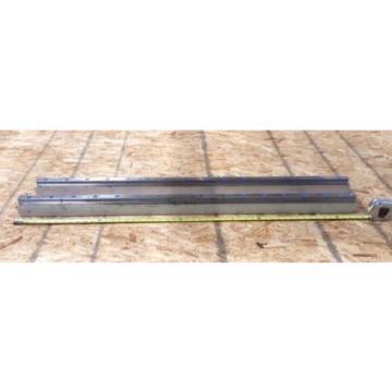 REXROTH  2 Rails  Guide Linear bearing CNC Route  model 7873 7210 13Q1 50#034;