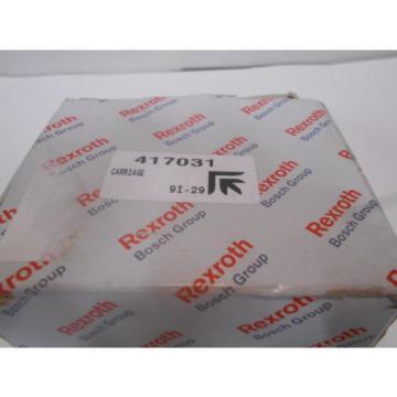 R162171320 Bosch Rexroth Runner Block Ball Carriage Linear Bearing