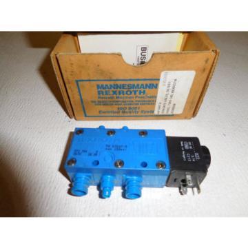 Rexroth 67697-5 Pneumatic Solenoid Valve